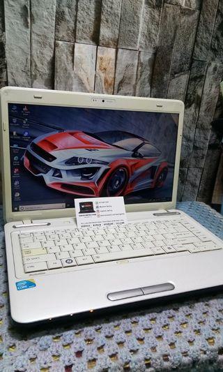 Toshiba i5 Ram 4gb Hdd 320gb Amd 1gb New Battery