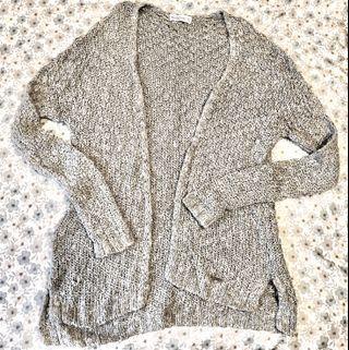 Abercrombie&Fitch粗針織開襟毛衣(s)