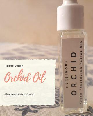 Orchid oil anti aging