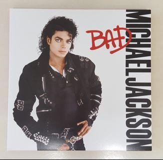 Micheal Jackson Bad Vinyl Record LP