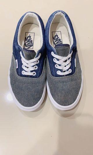 VANS old authentic 牛仔拼接 復古 板鞋 帆布鞋#剁手時尚