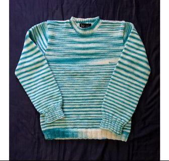 古著漸層羊毛毛衣