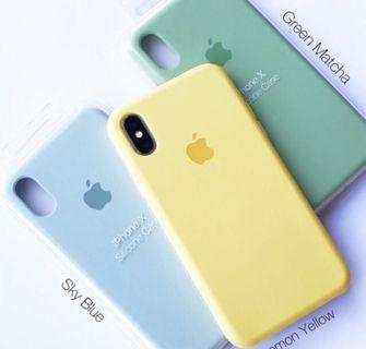 SILICON CASE IPHONE ORIGINAL✨