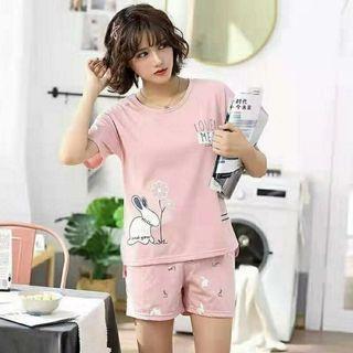 Ec  st catran l atasan fashion baju tidur piyama wanita