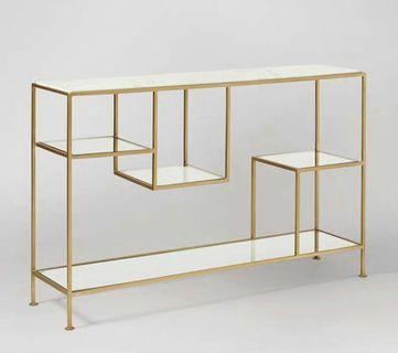 Pre-order 4 Weeks Console Glass Table