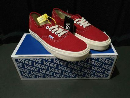 Vans Authentic Red chili LX BNIB