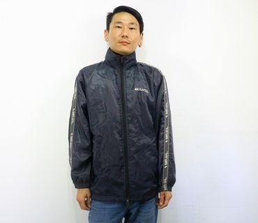 「Kaepa 藍紫色 高領 運動外套 古著 風衣 外套 肩:49cm 長:71cm @舊到過去」