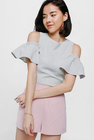 *OFFER*BNWT Love Bonito Off Shoulder Top in Pink