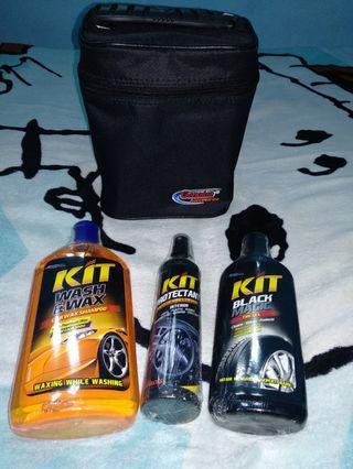 #1111special [Nego/barter] Paket cairan pembersih mobil with bag