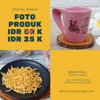 promo jasa foto produk makanan minuman murah berkualitas
