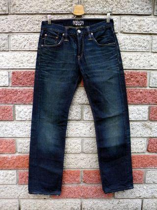 Levis 504 二手牛仔褲- 正品 日版-(levis 00504-0280)-W30