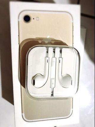 iPhone 6s 原廠圓頭耳機 original apple headset