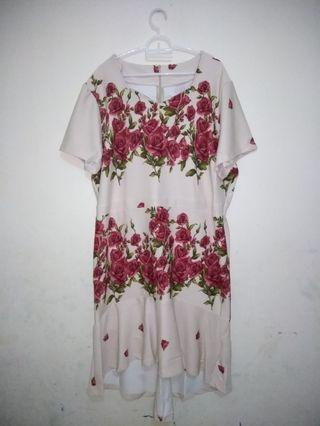 Big Dress Bunga muat sampai 5L