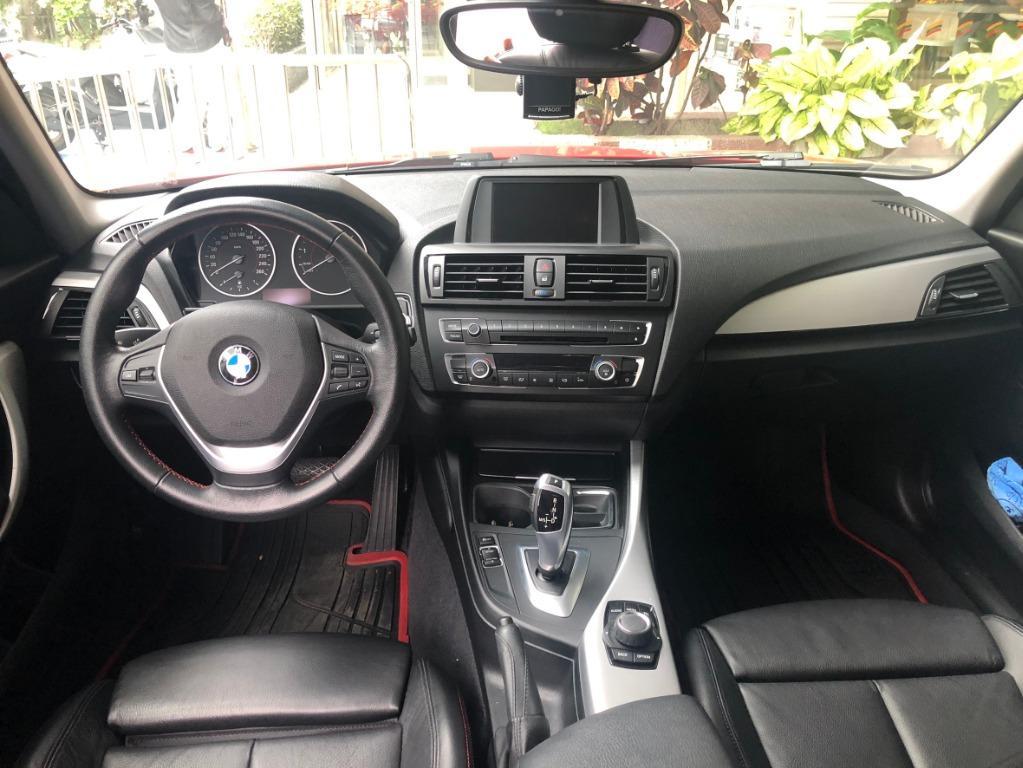 2012 BMW 118i  女用一手車  里程數跑 10萬公里