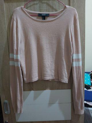 Sweater forever21 peach nude