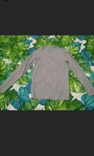 Kaos polos turtle grey / abu