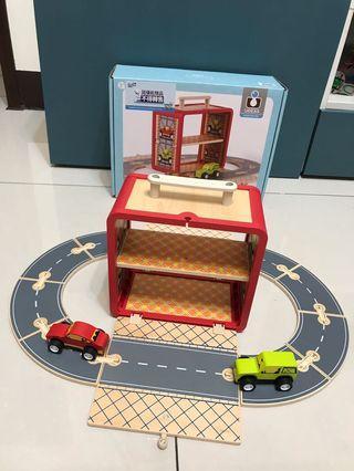 澳洲木製手提賽車遊戲盒