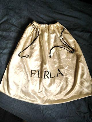 Furla satin large dustbag #1111