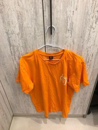 T恤 #橘色