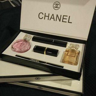 Chanel Makeup Set+ Perfume