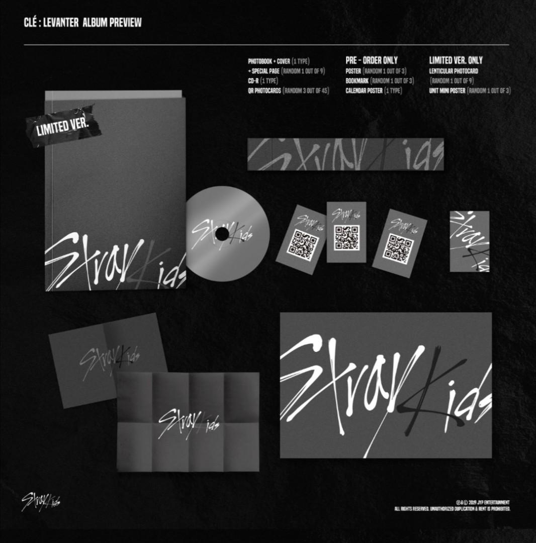 2 UNITS LEFT ❗STRAY KIDS LIMITED ver <Cle`: Laventer>