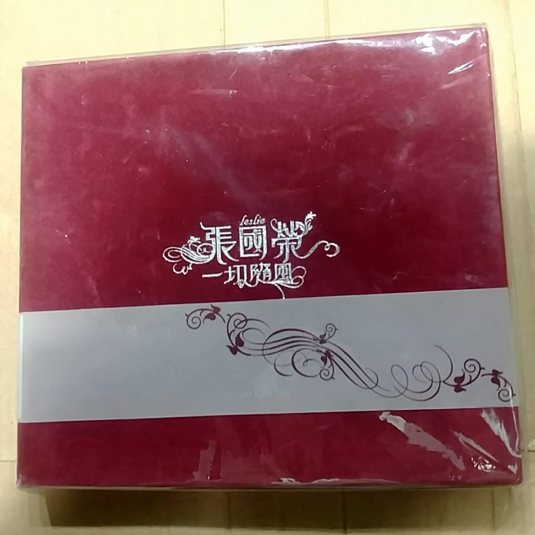 張國榮 一切隨風 豪華版  CD 95新 唔破損