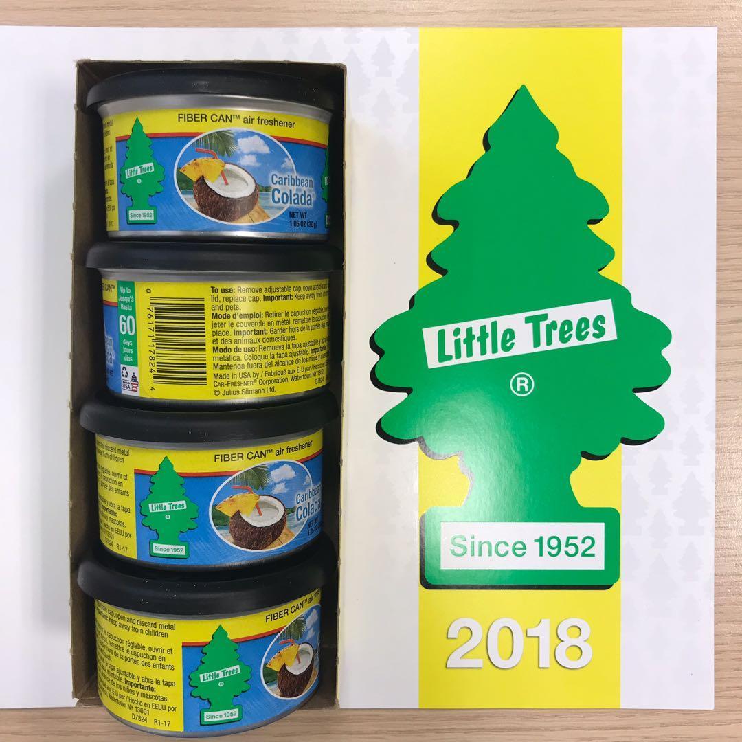 🌲 Little Trees Car / Air Freshener (Caribbean Colada)