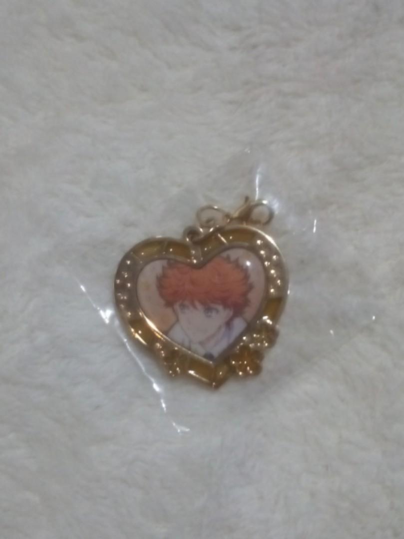 Anime Magic-Kyun Tatewaki Rintaro heart keychain