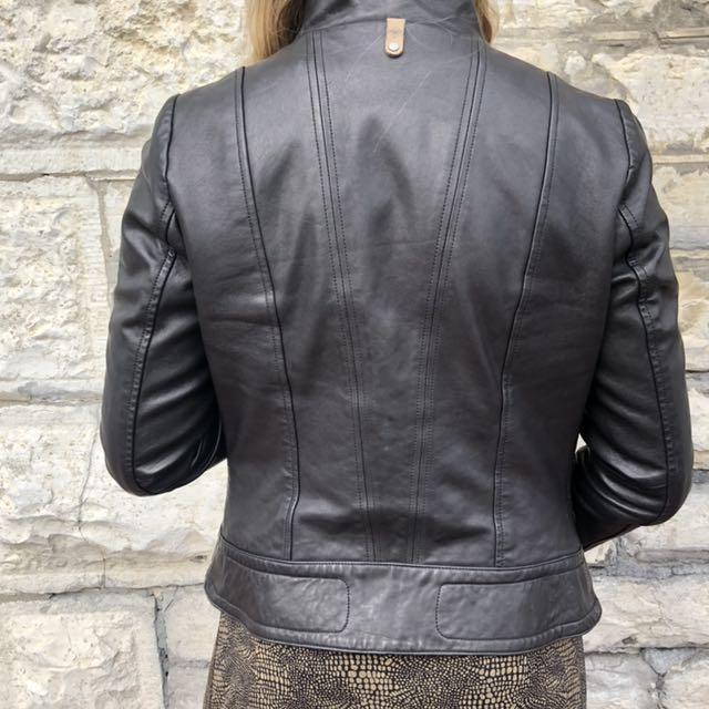 Aritzia Mackage Kenya Leather Jacket