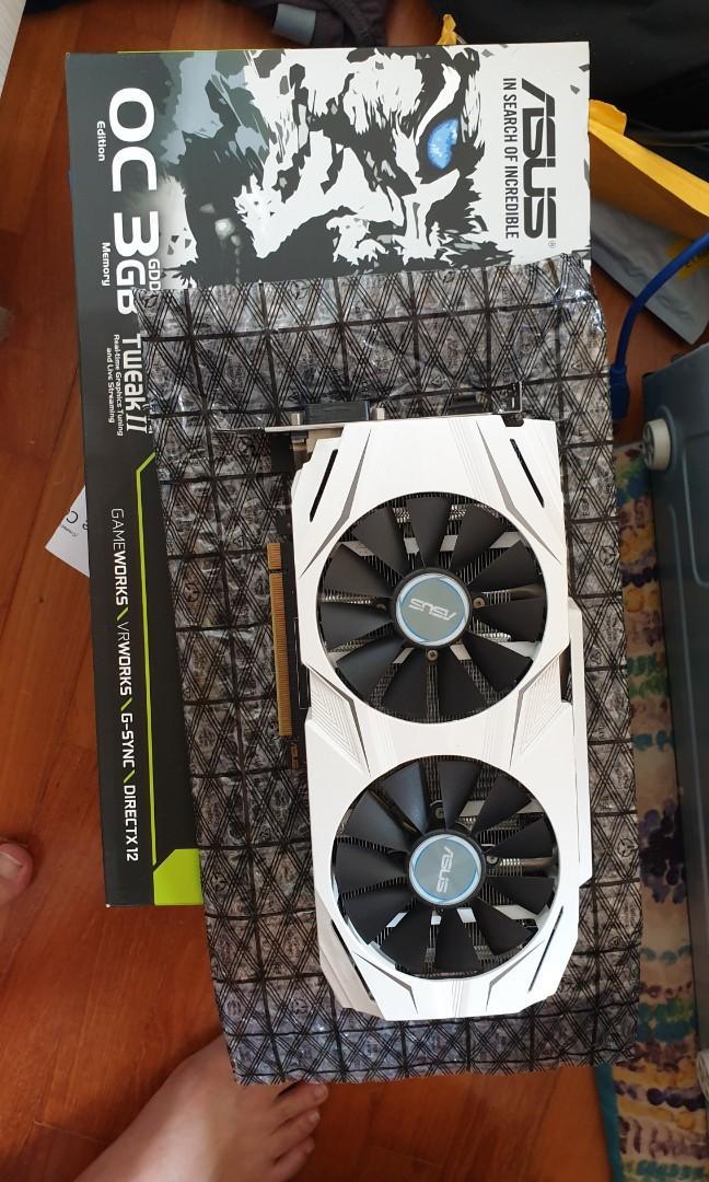 Asus GTX 1060 3GB Dual