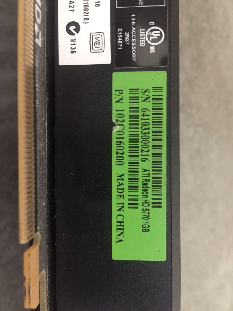 ATI Radeon HD5770 1GB Macpro Edition