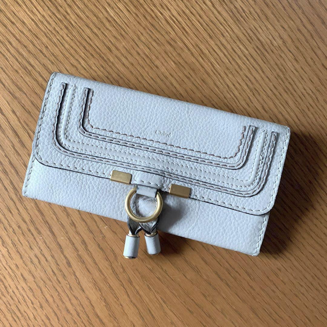 Authentic Chloé Bone Leather Wallet