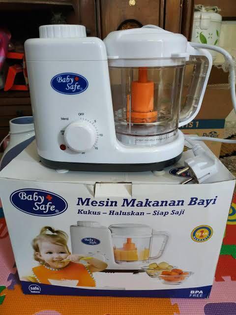 Baby Safe Food Maker Mesin Pembuat Makanan MPASI