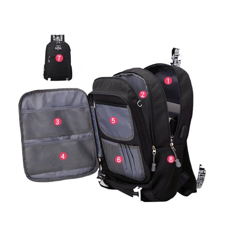 Backpack + travel storage bag