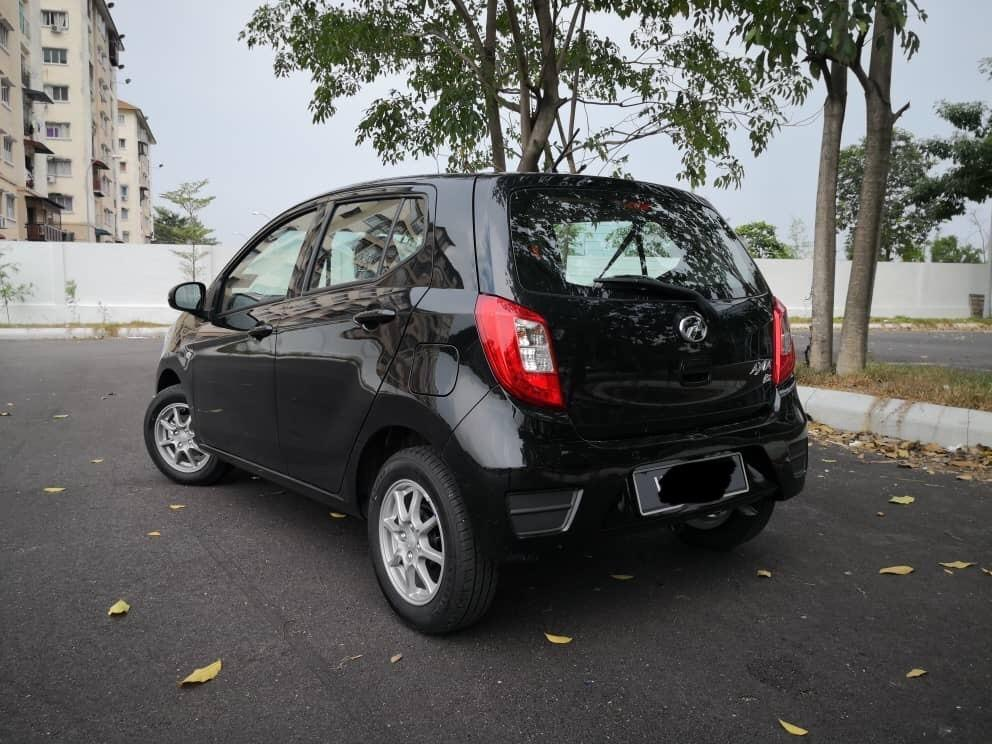 Baru Perodua Axia G 1.0 (A) Kereta Sewa Selangor KL Murah