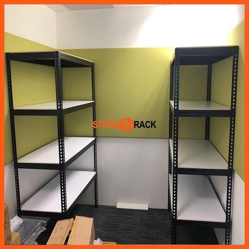 Black Boltless Storage Rack for BTO Bombshelter