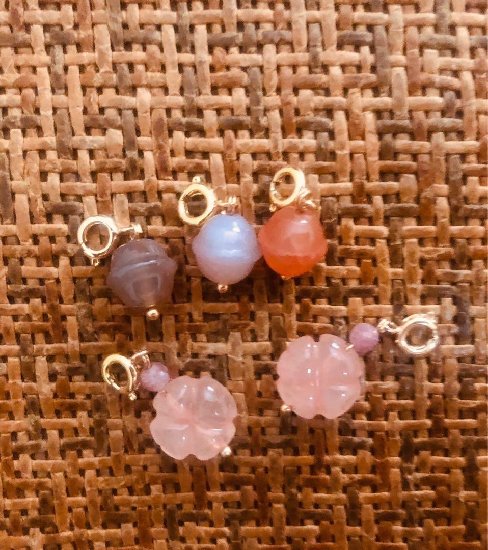 Jade ornaments for charms bracelet $28