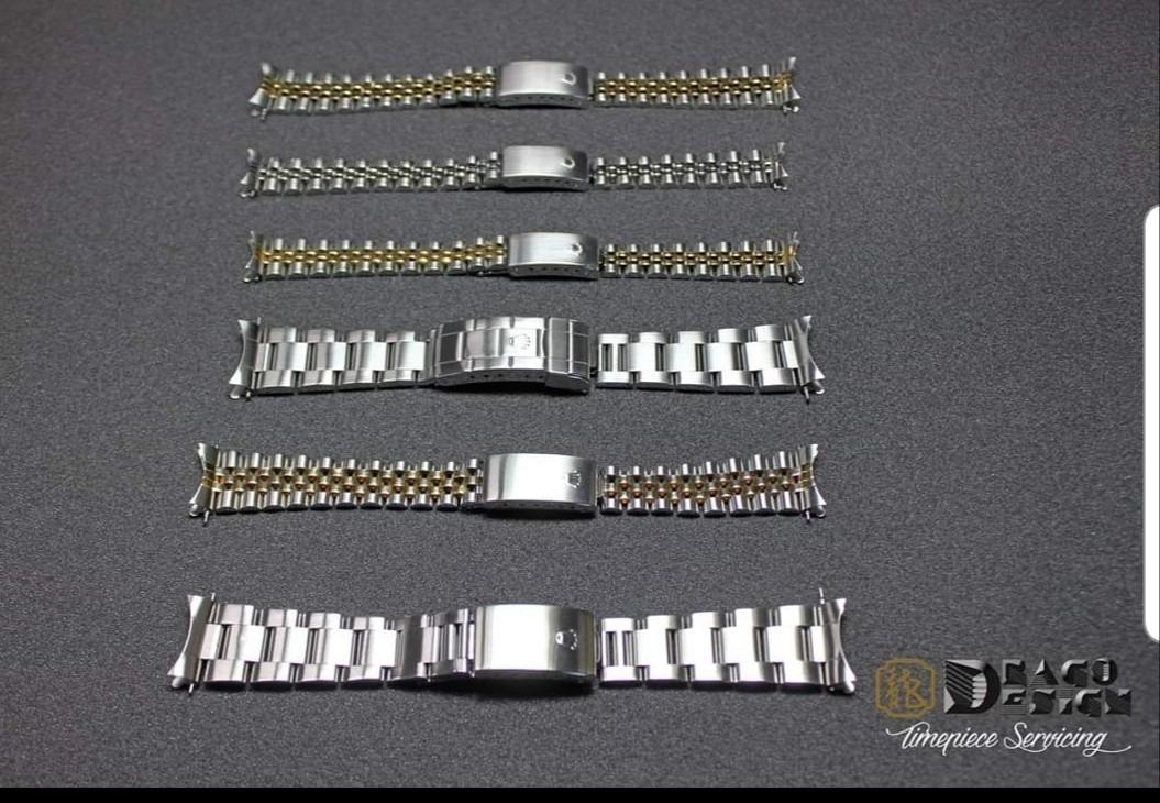 Bracelet Tightening and repair for Rolex Jubilee and Oyster
