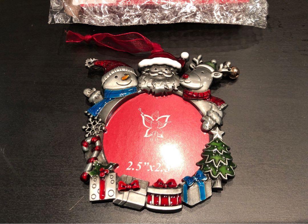 Brand new Christmas ornament photo frame ornament Christmas tree