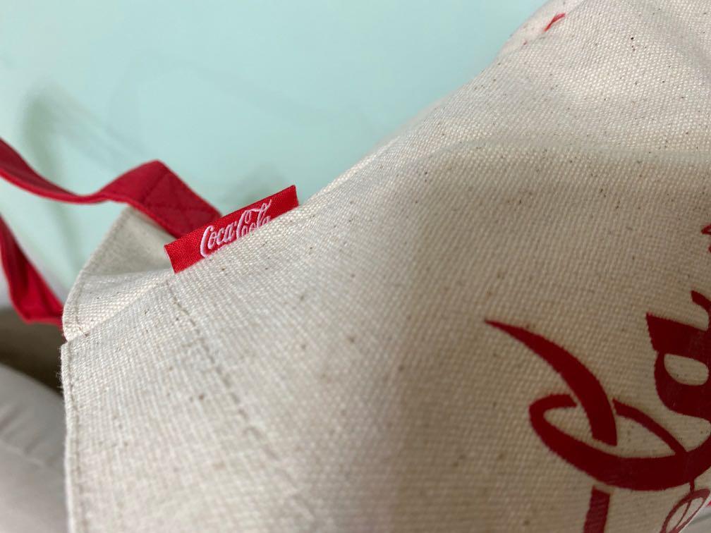 (BRAND NEW) Macau Coca Cola Limited Edition 70th Anniversary Tote Bag (Authentic)