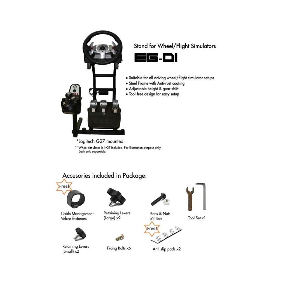 Brand New Wheel Simulator Stand/Wheelstand