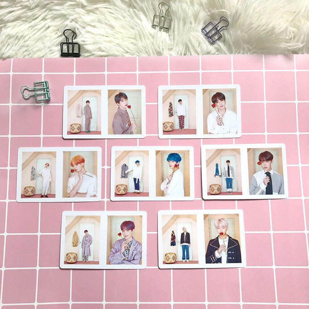 BTS Map of The Soul : Persona Lomo Card / Photocard