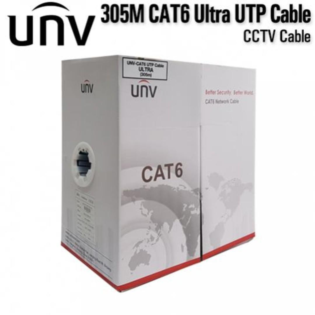 Cat6 UNV ULTRA CCTV Cable 305Meters