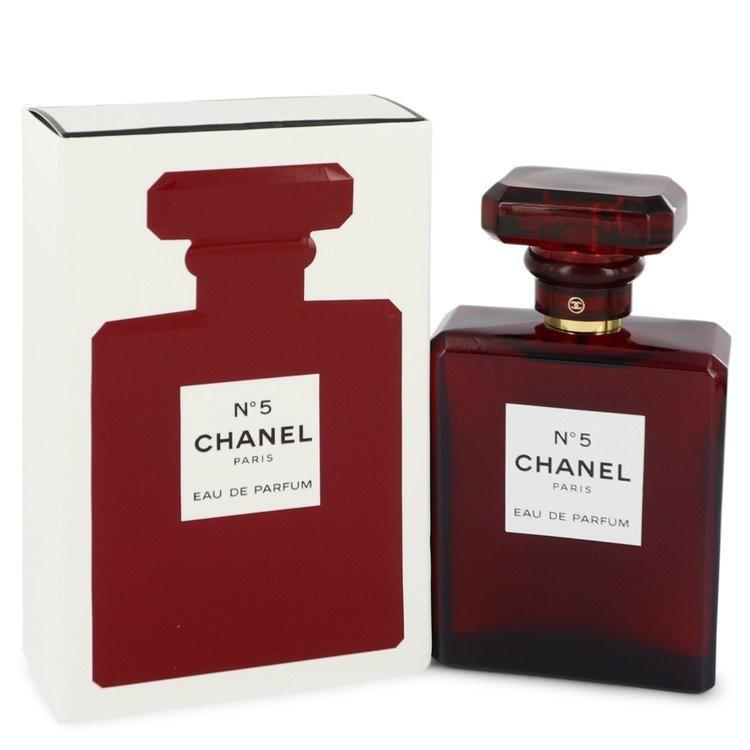 CHANEL NO.5 By CHANEL 100ml EDP EAU DE PARFUM Spray Women Perfume RED LIMITED EDITION BOTTLE