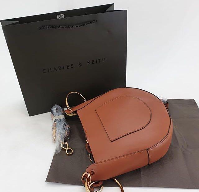 Charles and Keith Handle Bag