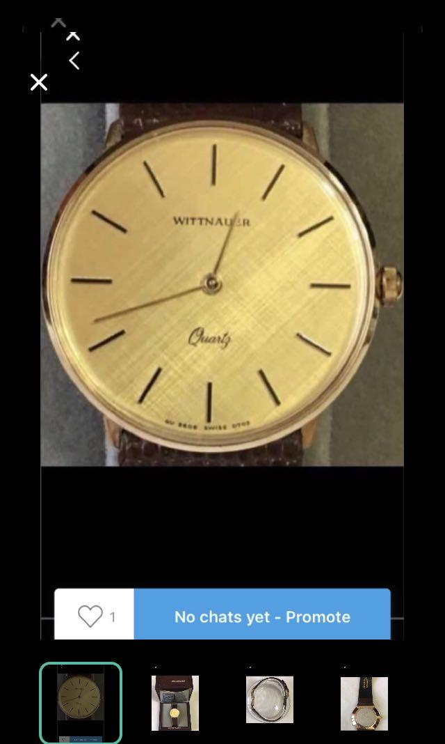 CLEARANCE SALES {Collectibles Item - Vintage Dress Watch} Authentic WITTNAUER LONGINES Brand Men Dress Quartz Watch Come With Box & Owner Information And Warranty Booklet