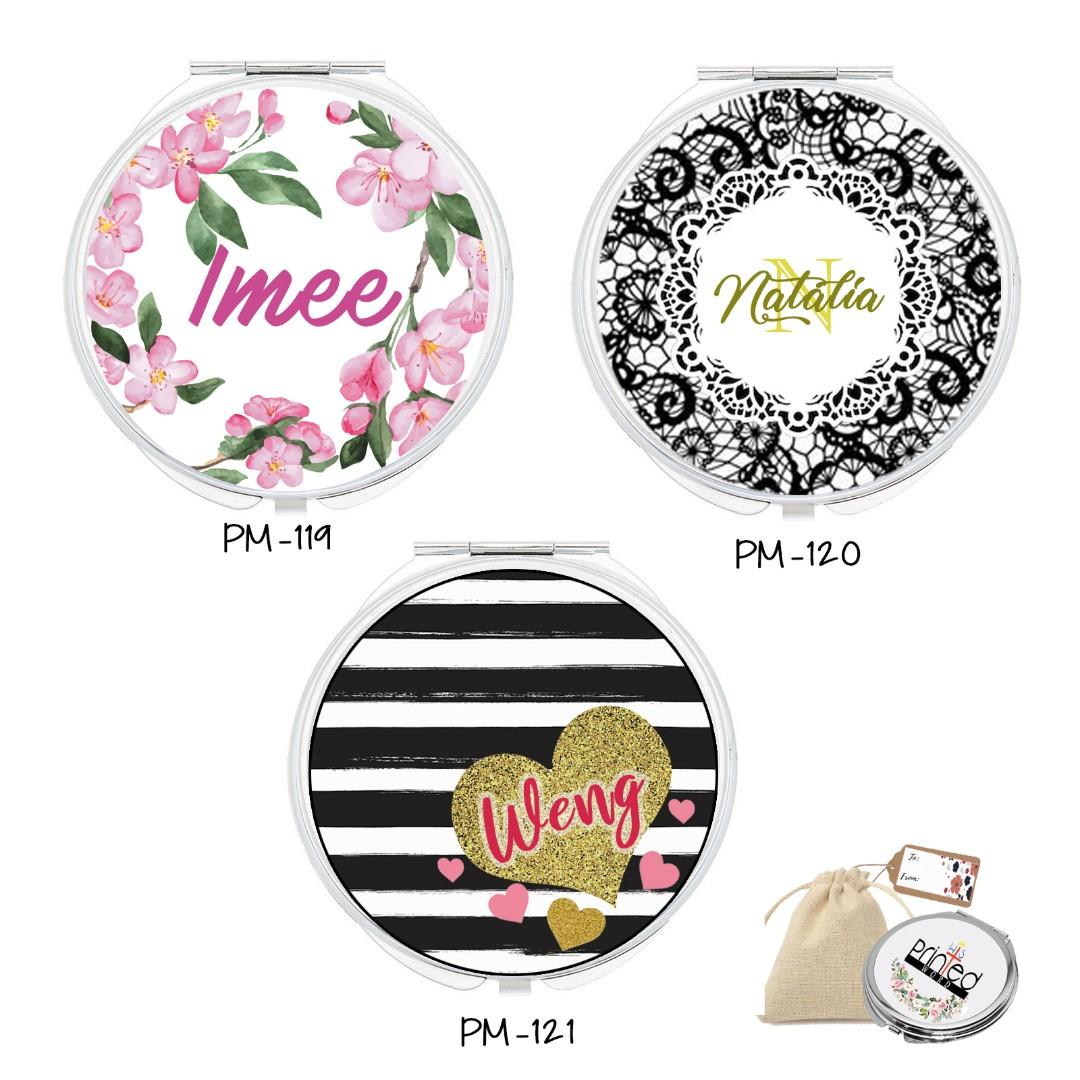Customise Compact Mirror Gift