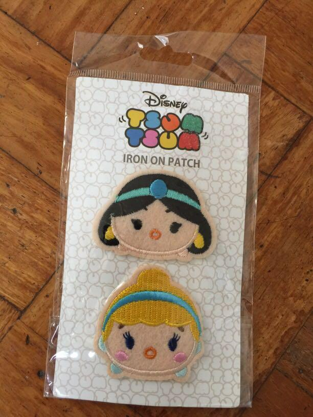 DISNEY TSUM TSUM IRON ON PATCH