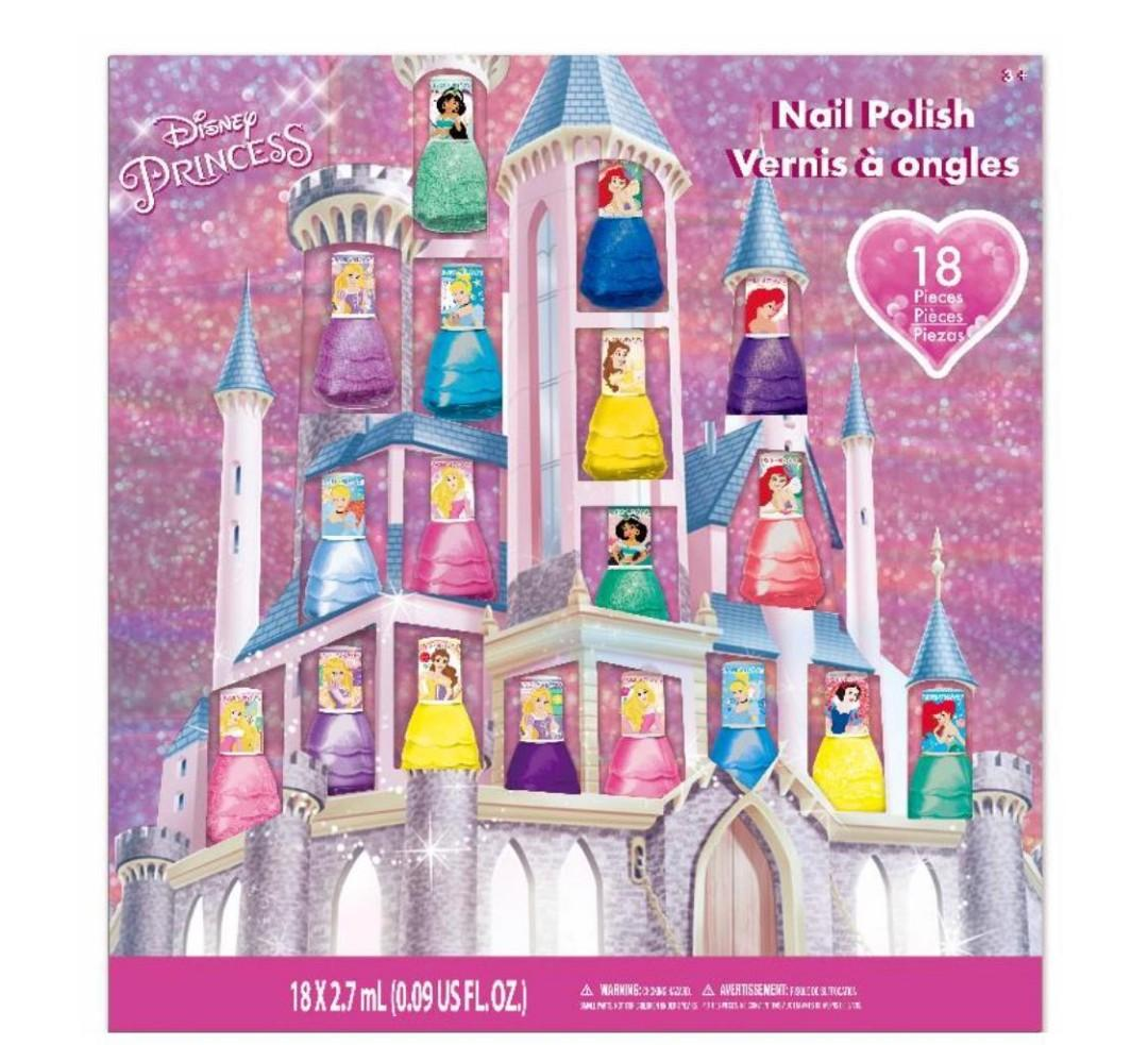 Frozen II & Princess 指甲油18支裝