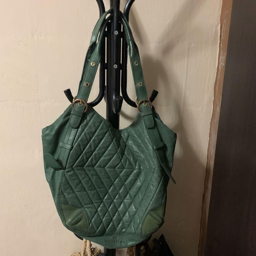 Green Hiroshima Leather Bag